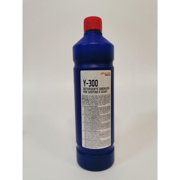 Y300 Detergente energico per sentine e scafi Allegrini nautica